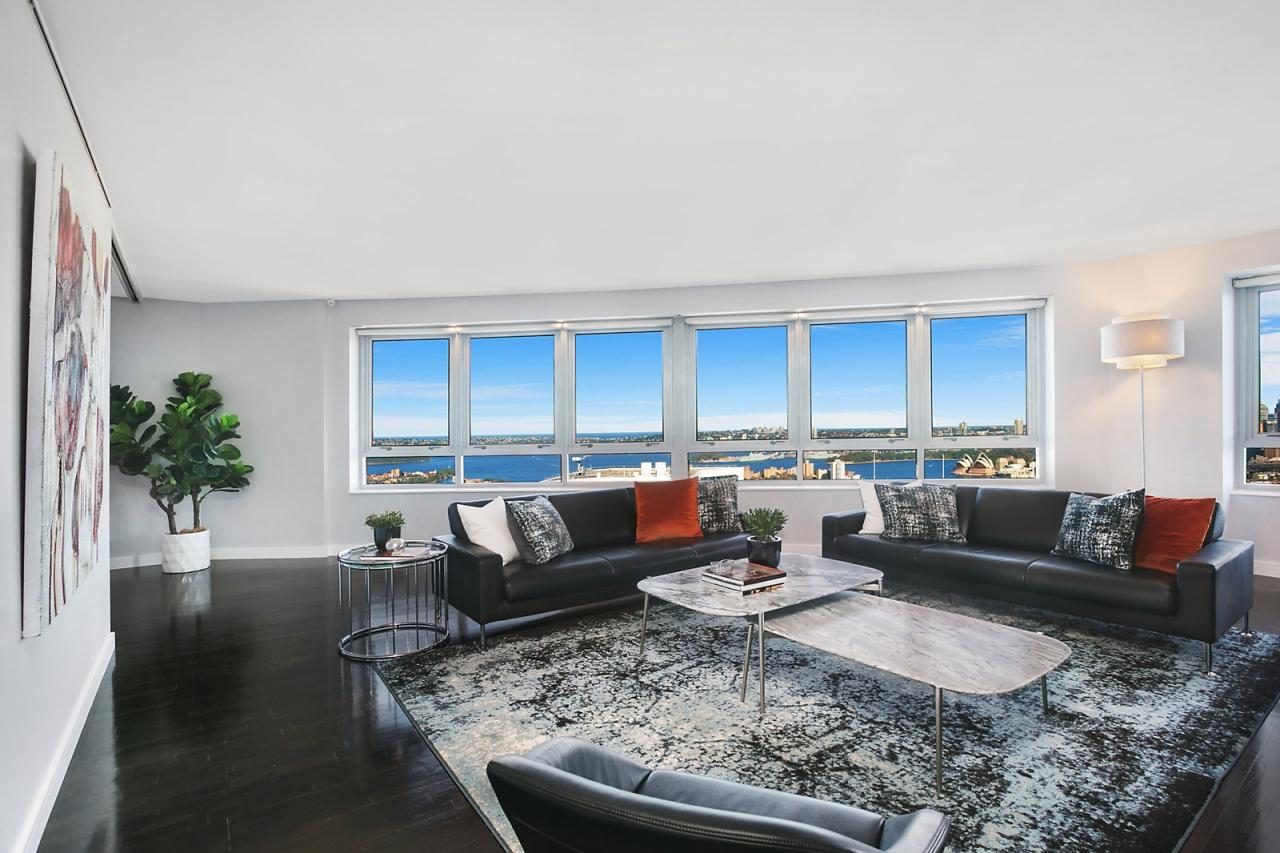 Luxurious Sky Home With Breathtaking Views And Prestige Facilities North  Sydney 3401/79 Berry Street